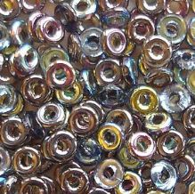 O Beads Crystal Graphite Rainbow - 5 grams